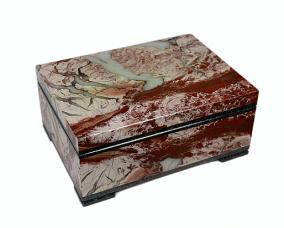 Оригинальная каменная шкатулка из яшмы от 12 500 руб