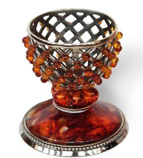 Подставка под яйцо подарочное (янтарь) от 11 580 руб