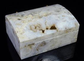 Шкатулка из агата с жеодой от 13 000 руб