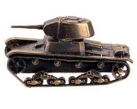 Бронзовый танк Т-26(1:100) от 2 400 руб