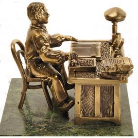 """Бронзовая статуэтка """"Счетовод"""" от 6 500 руб"""