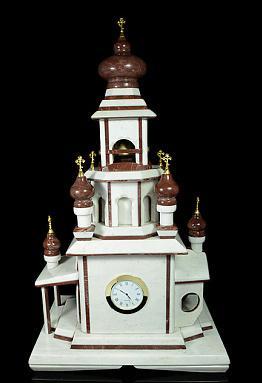 Каминные часы из камня от 37 750 руб