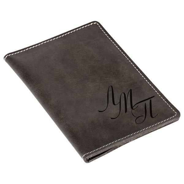Бумажник для документов с гравировкой «Driver grey» купить