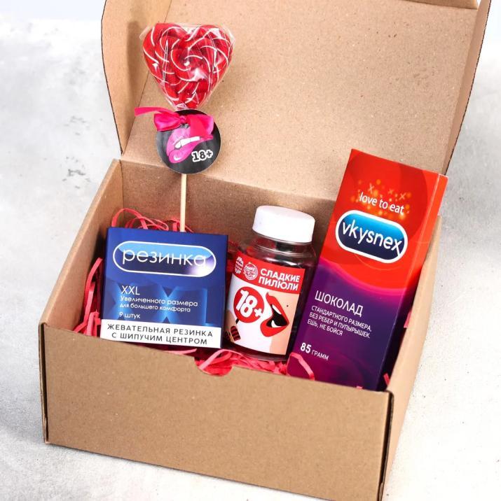 """Подарочный набор """"Для тех, кто любит сладенькое"""" купить"""