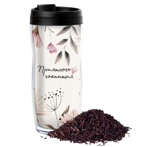 Чай в термостакане с Вашим текстом «Нежность» купить