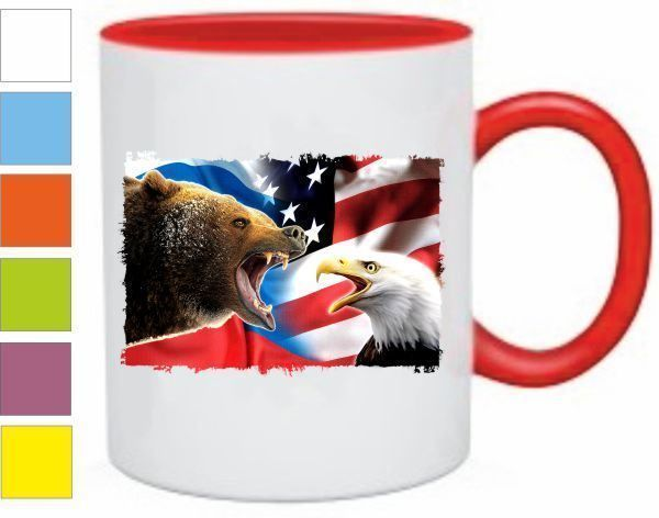 Кружка Bear vs Eagle купить