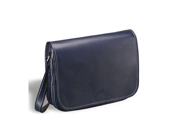 e2f4aa8e635d Кожаная сумка через плечо Brialdi Cambridge, синий за 8950 рублей ...