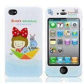Чехол для iPhone4 Girl in the boat купить