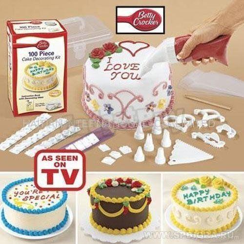 Где купить набор для украшения тортов