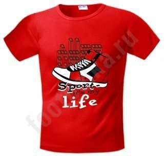 "Футболка FREEdom ""Sport it's My Life"" купить"
