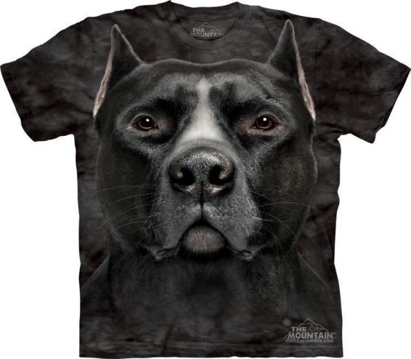 Футболка Black Pitbull Head купить
