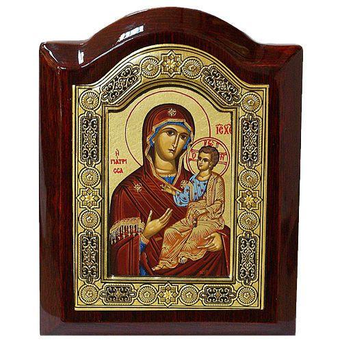 Иконы иверская божья матерь где находится