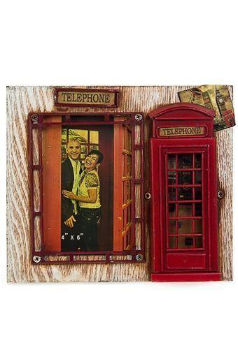 Красный куб рамка для фото телефонная