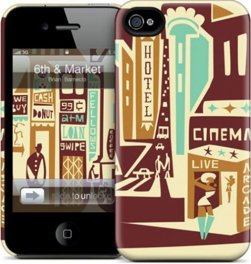 "Чехол для iPhone 4/4S Gelaskins ""6th & Market"" купить"