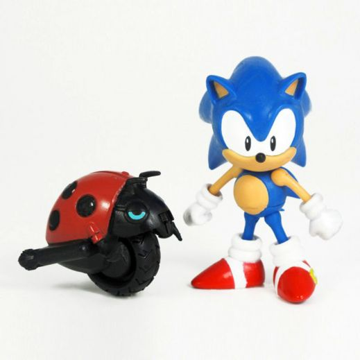 Фигурка Соник Sonic with Moto Bug (8см) купить