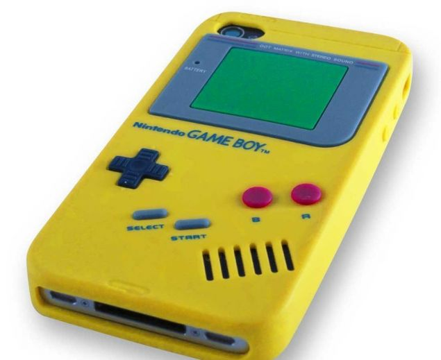 "Чехол для iPhone 4 ""Game Boy"" купить"
