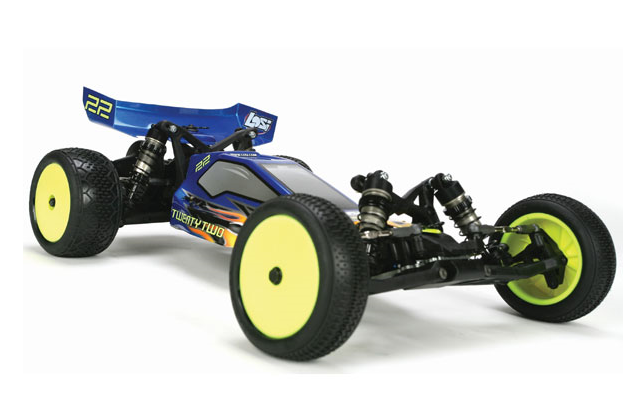 Losi Buggy 22 Brushless 2WD 2.4Ghz купить