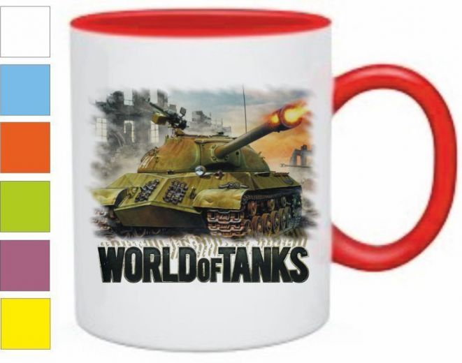 "Кружка ""World of tanks"" (3) купить"