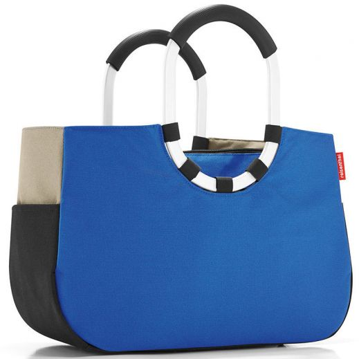 Сумка loopshopper m patchwork royal blue купить