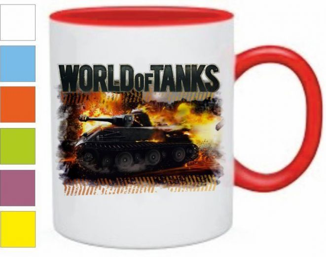 "Кружка ""World of Tanks"" купить"