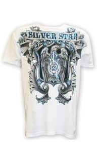 "Футболка ""SilverStar Iron Eagle T-Shirt"", белая купить"