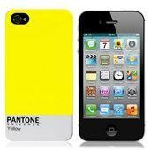 Чехол для iPhone4 Pantone Yellow купить