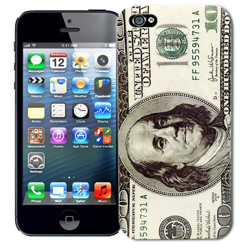 "Чехол для iPhone 5 ""Dollar"" Kawaii купить"