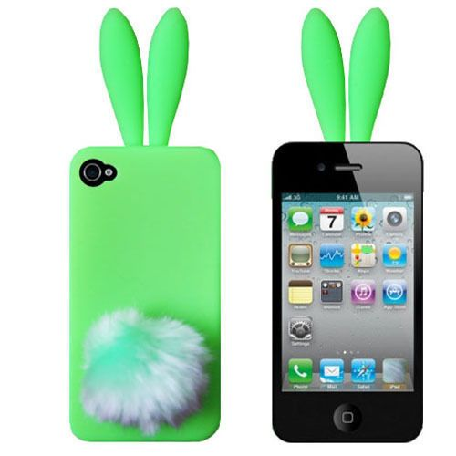 "Чехол для iPhone 5/5s ""Bunny green"" купить"
