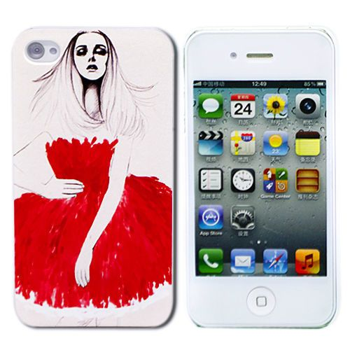 "Чехол для iPhone 4/4S ""Stylish Lady"" купить"