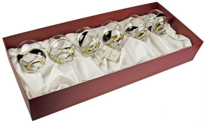 Упаковка бокалов в подарок 89