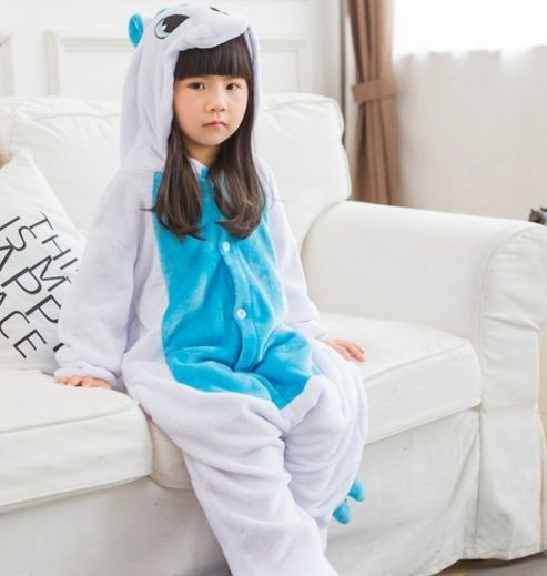 Пижама кигуруми единорог для детей (120 размер) за 1510 рублей ... d9a1b87907733
