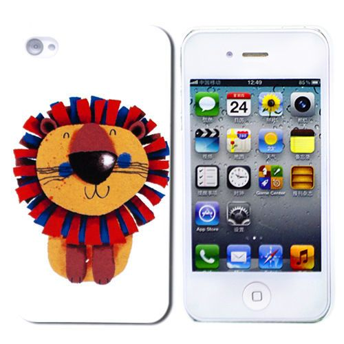 "Чехол для iPhone 4/4S ""Little Lion"" купить"