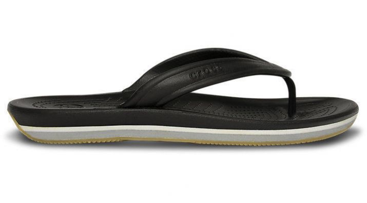 Шлепанцы Crocs Retro Flip Black / Light Grey купить