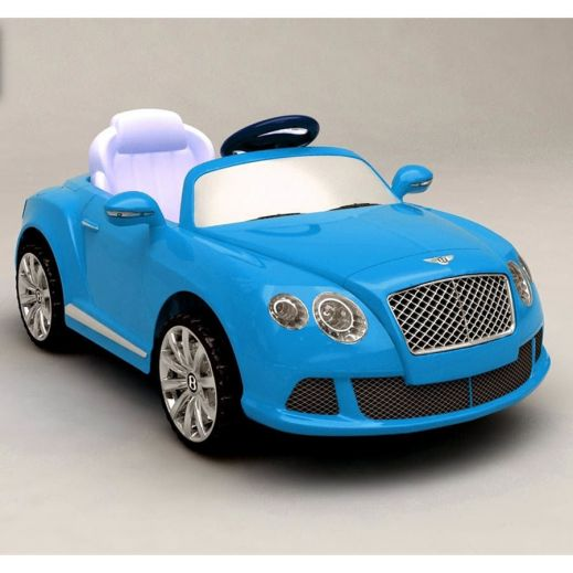Электромобиль Bentley Continental GTC blue R-Toys (Р-Тойз) купить
