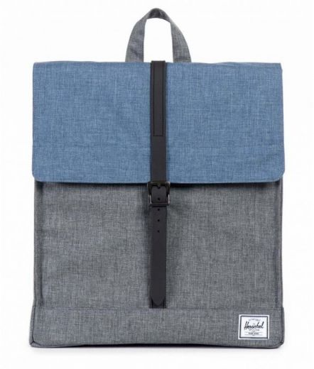 Рюкзак Herschel City Charcoal Crosshatch Navy Crosshatch Rubber купить