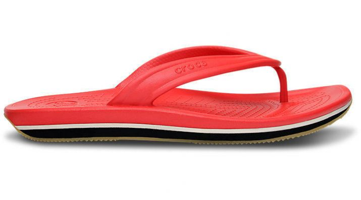 Шлепанцы Crocs Retro Flip Red / Black купить