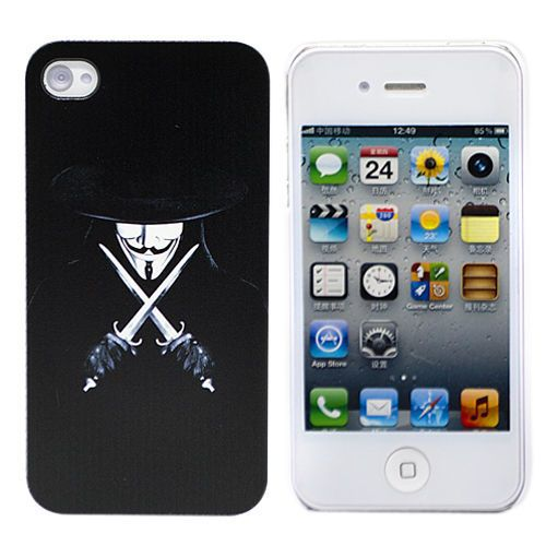 "Чехол для iPhone 4/4S ""Robber With Swords"" купить"