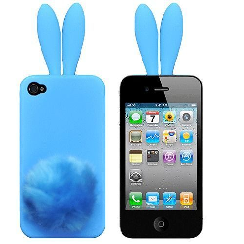 Чехол для iPhone5/5s Bunny blue купить