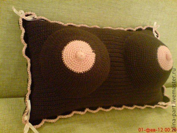 Подушка - грудь для Релаксации Госпожа, купить