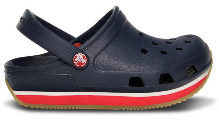 Сабо Kids Crocs Retro Clog Navy / Red купить