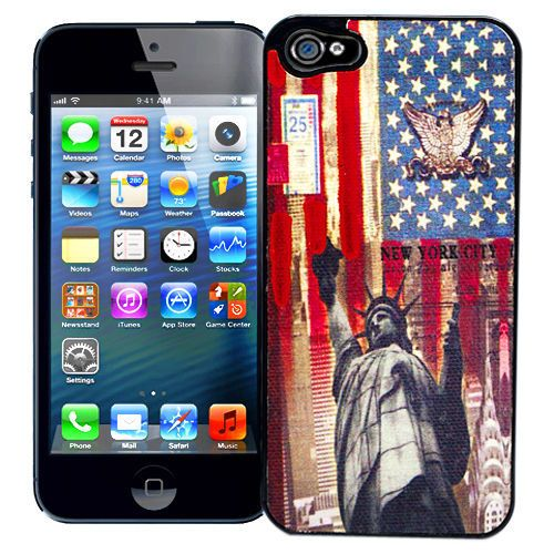 "Чехол для iPhone 5 ""Statue of Liberty"" купить"