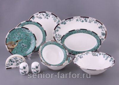 Столовый фарфоровый сервиз Porcelain manufacturing factory купить
