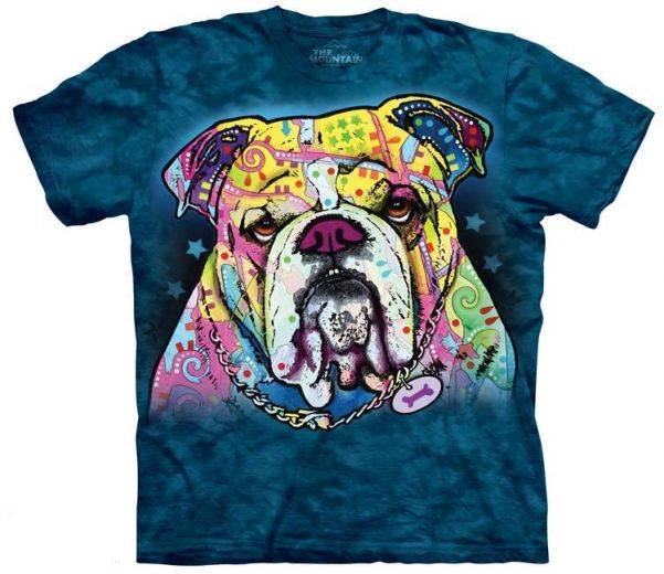 Футболка Colorful Bulldog купить