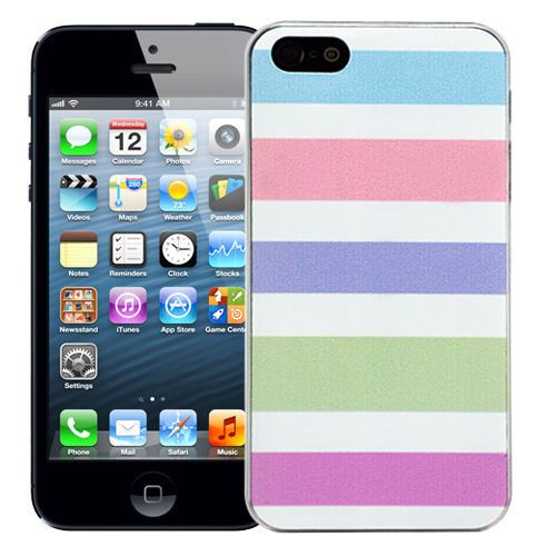 "Чехол для iPhone 5/5s ""Pastel stripes"" купить"