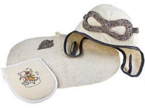 Набор: шапка и веник