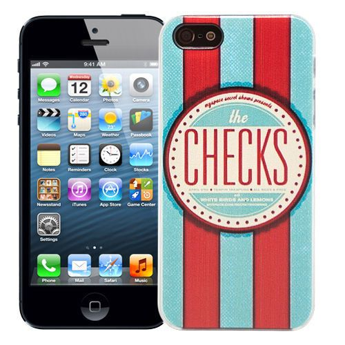"Чехол для iPhone 5/5s ""The checks"" купить"