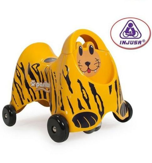 Каталка Pushtoy Pasitos Tiger Injusa купить