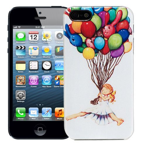 "Чехол для iPhone 5/5s ""Balloon girl"" купить"