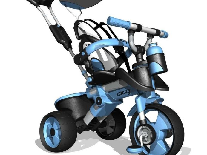 Велосипед City Trike Aluminium blue Injusa (Инджуса) купить