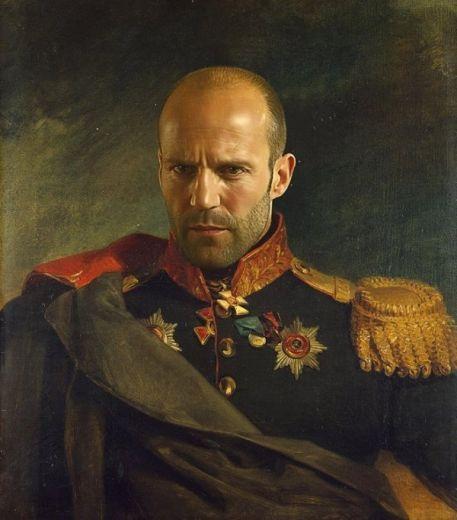 Яркий портрет по фото на холсте купить